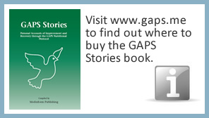 Visit www.gaps.me to find out where to buy the GAPS Stories book.
