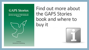 Find out more about the GAPS Stories book and where to buy it